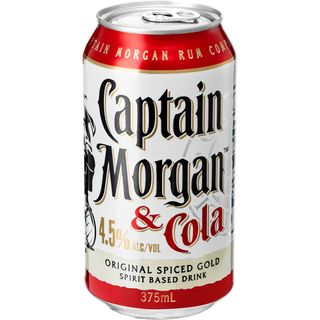 Captain Morgan & Cola Can 4.5%-24