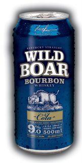Wild Boar 9% Bourbon & Cola 500ml-24