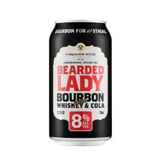 Bearded Lady Bourbon 8% Cans 375ml-24