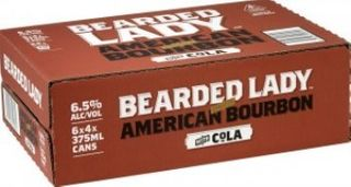 Bearded Lady Bourbon 7% Cans 250ml-24