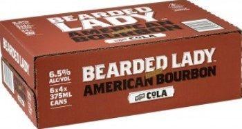 Bearded Lady Bourbon 7% Cans 250ml-24