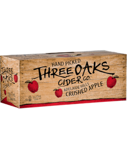 Three Oaks Orig Cider 5% 375ml 10PK x3