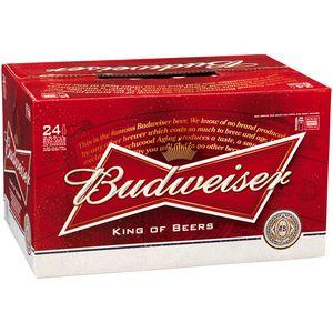 Budweiser 330ml 4x6-24