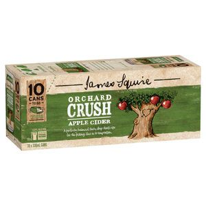 James Squire Orch App 330ml Can 10PK x3
