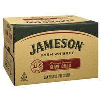 Jameson & Raw Cola 6.3% 375ml CAN-24