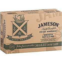 Jameson & Dry Lime 6.3% 375ml CAN-24