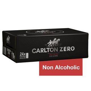 Carlton Zero Can 375ml-24
