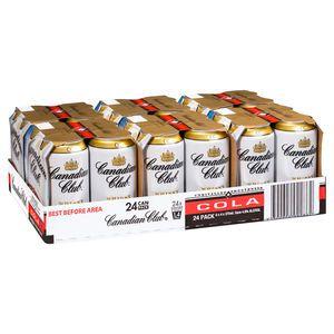 Canadian Club & Cola Can 375ml-24