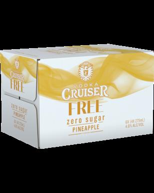 Cruiser Free Pineapple 275ml-24