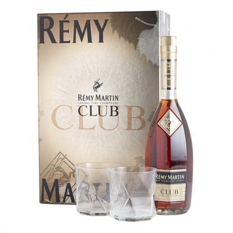 Remy Martin Club Cognac 700ml + 2 Gls Pk