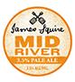 James Squire Mid River 3.5% KEG 49.5L