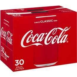 Coke Cans 375ml x 30pack