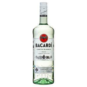 Bacardi Rum Light Dry 1lt