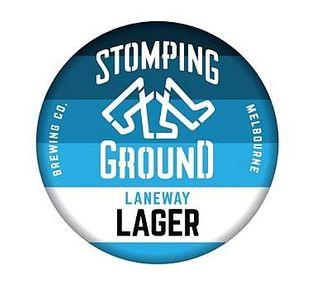 Stomping Ground Laneway Lager Keg 50L