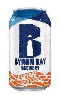 Byron Bay Hazy One Pale Ale Can 335ml-24