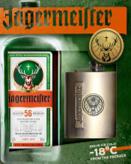 Jagermeister & 2 Shot Glass Pack 700ml