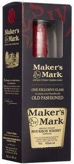 Makers Mark & Glass Gift Pack 700ml