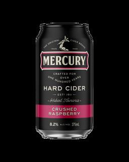 Mercury Hard Raspberry Cans 375ml-24