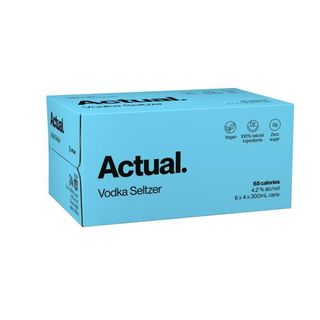 Actual Vodka Seltzer Can 300ml-24