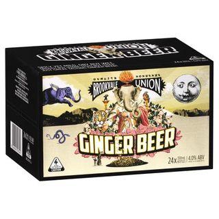 Brookvale Union Ginger Beer Stub 330m-24
