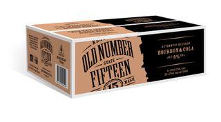 Old Number 15 Bourbon & Cola 9% 375ml-24