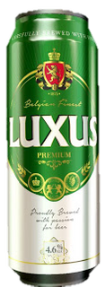 Luxus Premium Belgian Lager Can 500ml-24