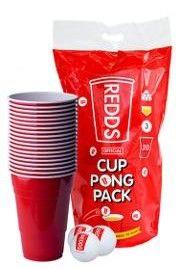Redds Plastic Cups 425ml 20 Per Sleeve