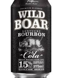 Wild Boar Bourbon & Cola 12% 375ml-24