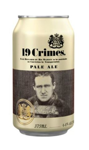 Nineteen 19 Crimes Pale Ale Can 375ml-16
