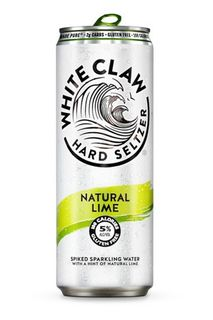 White Claw Natural Lime Can 330ml-24