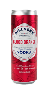 Billsons Vodka & Blood Orange 355ml-24