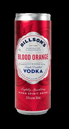 Billsons Vodka & Blood Orange 355ml-24