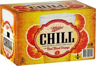 Miller Chill Blood Orange 330ml-24