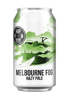 Hop Nation Melb Fog Hazy Pale 375ml-24