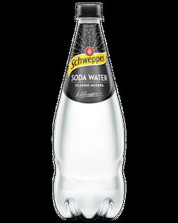 Schweppes Soda Water 1.1L x12