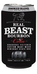 Beast Bourbon & Cola 3x6 4.7% 330mlx18pk