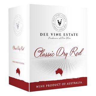 Dee Vine Estate Classic Dry Red Cask 4L