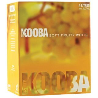 Kooba Soft Fruity White 4LT Cask