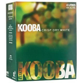 Kooba Crisp Dry White 4LT Cask