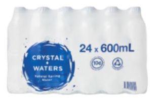 Spring Water 600ml X 24