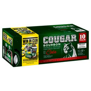 Cougar & Cola Can 375ml X 10PK x3