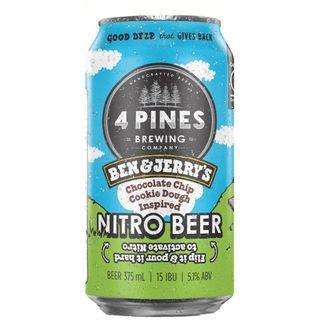 4 Pines B&J Choc Chip Nitro Ale 375ml-24