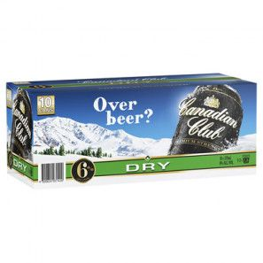 Canadian Club 6% & Dry Cans 10PK x3