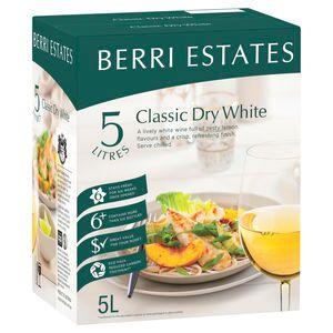 Berri Classic Dry Wht Cask 5L