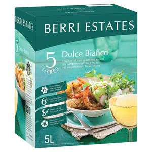 Berri Dolce Bianco (White Lamb) Cask 5L