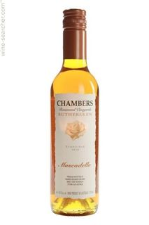 Chambers Muscadelle Liquer Tokay