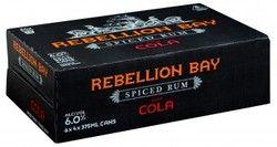 Rebellion Bay Spiced Rum 6% Can 375ml-24