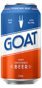 Mountain Goat Lager CAN 4.2% 375ml-24