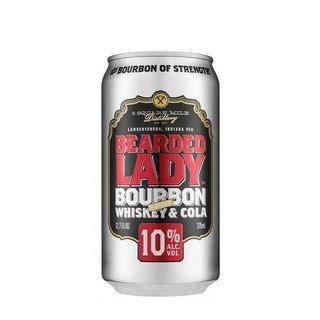 Bearded Lady Bourbon 10% Cans 375ml-24