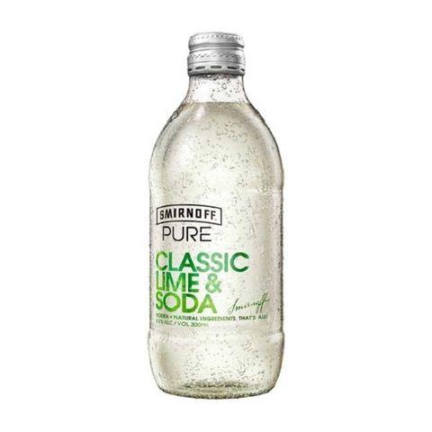 Smirnoff Pure Lime & Soda 300ml-24